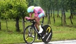 2015 Giro d'Italia: Fabio Aru con ruote Corima