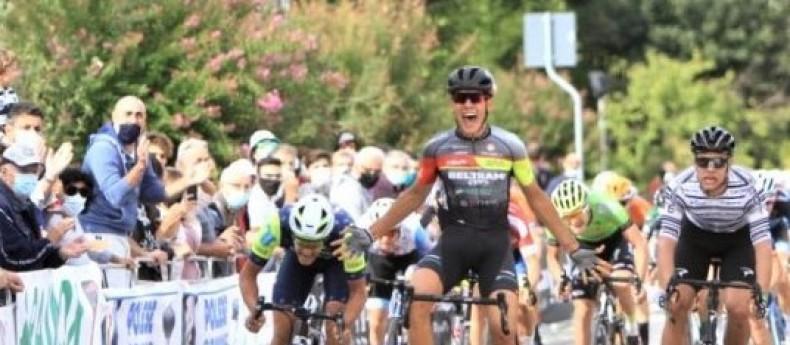 Filippo Baroncini regala la prima vittoria stagionale al Team Beltrami TSA – Marchiol