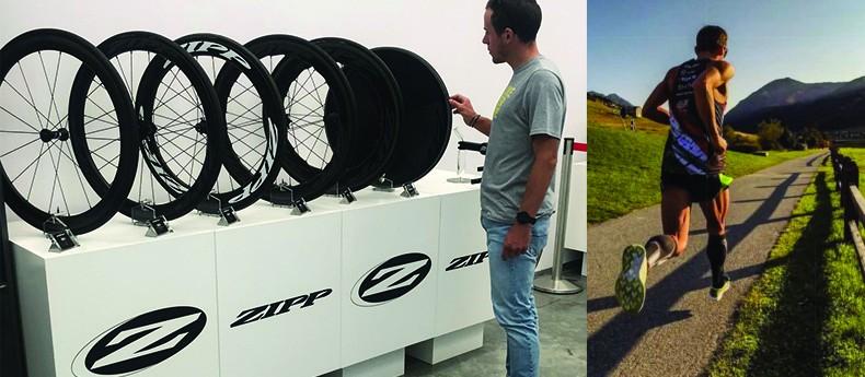 Matteo Fontana sceglie le Ruote Zipp per l'Ironman di Cervia!