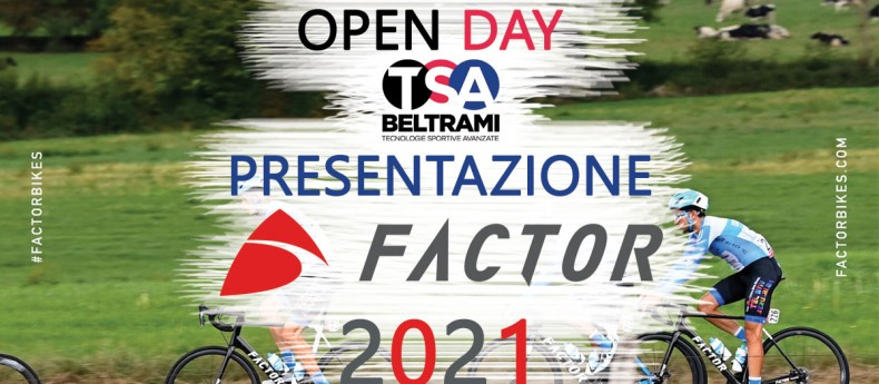 Open day - Presentazione Factor Bikes 2021