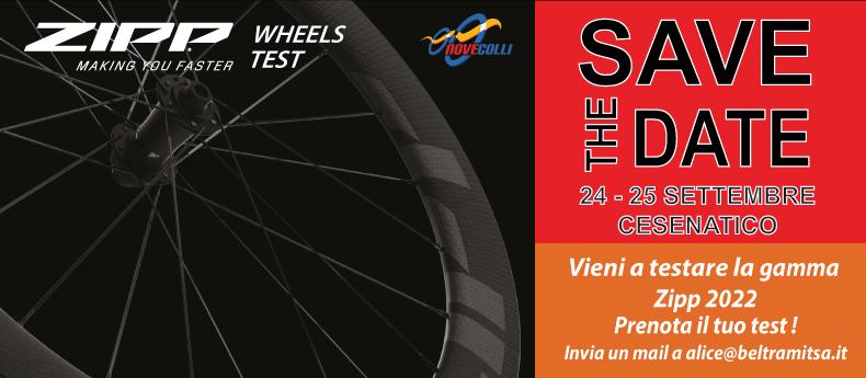 Zipp Wheels Test - Prenota ora!